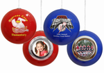 Picture Christmas Ornaments - Shatter Resistant Acrylic