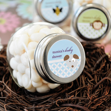 Puppy Baby Shower Favors Jar