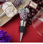 Purple Favors Grape Wine Stoppers