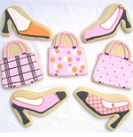 Purse and Shoes Cookies