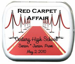 Red Carpet Prom Theme Party Favors