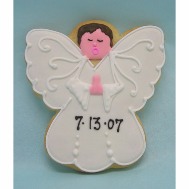 Religious Angel Cookies