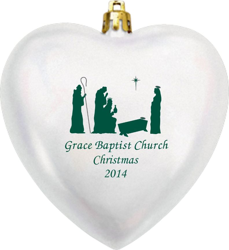 Religious Christmas Ornaments - Church or Childcare