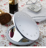 Rhinestone Compact Mirrors Cute Design