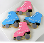 Roller Skate Party Favors Cookies