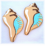 Shell Cookies Ocean Favors