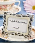 Shimmering Rhinestone Placecard Photo Frame
