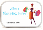 Shopping Theme Party Mint Tins