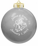 Silver Theme Wedding Ornament Favors