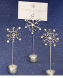 Snowflake Placecard Holder