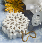 Snowflakes Wedding Winter Themed Favors Boxes