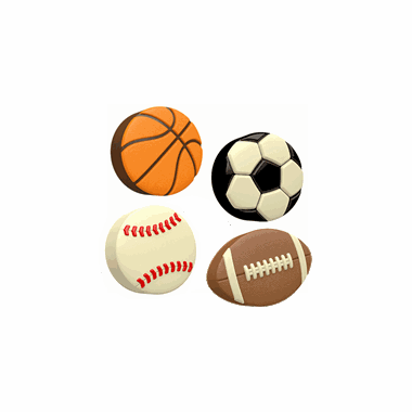 Sports Theme Party Favors - Chocolate Covered Oreos