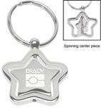 Star Spinner Keychain