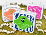 Suitcase Tins Travel Favors