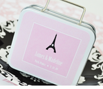 Suitcase Travel Theme Tin Favors