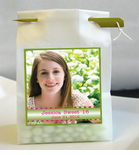 Sweet 16 Photo Personalized Favor Bags