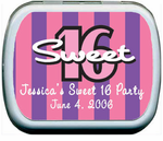 Sweet Sixteen Favor Mints