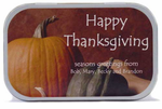 Thanksgiving Favors Custom Mint Tins