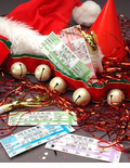 Ticket Christmas Party Invitations