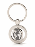 Travel Themed Globe Keychains - The World is Yours