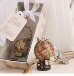 Travel Themed Globe Keychains