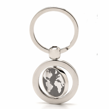 Travel Themed Globe Keychains - Only 170 Left