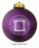 """Unbreakable Acrylic Personalized Christmas Ornaments - 3 1/4"""""""