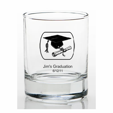 Unique Graduation Favors Custom Shot Glass