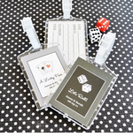 Vegas Luggage Tags Favors