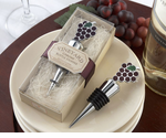Vineyard Wedding Favors Bottle Stopper