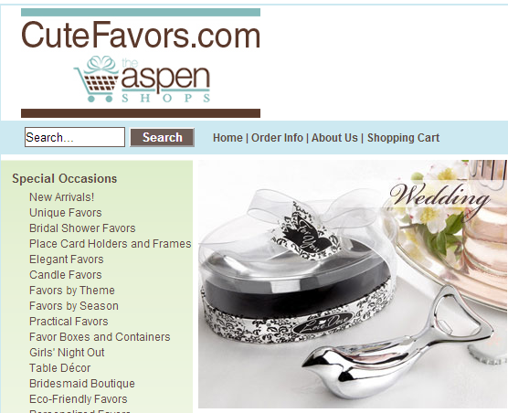 Wedding Party Gifts Canada: Wedding Favors Canada, Canada Party Decorations