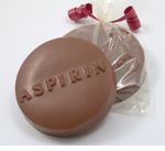 Wedding Favors for a Pharmacist - Chocolate Aspirin