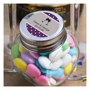 Wedding Mini Candy jars