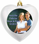 Wedding Ornament Favors, Save the Date