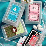 Wedding Playing Cards Design Your Own Label