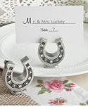 Western Place Card Holders Horse Shoe