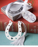 Western Theme Party Horseshoe Favors Bookmark