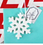 White Snowflake Ornaments
