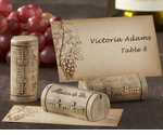 Wine Cork Placecard Photo Holders - Set of 4