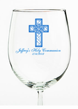 Wine Glass Favor for Communion