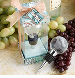 World Wedding Favors - Globe Bottle Stoppers