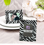 Zebra Place Card Holders