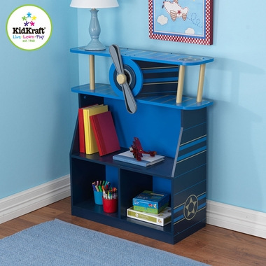 Airplane Bookcase with 4 Shelves by KidKraft