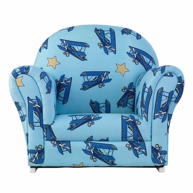 Kidkraft Airplanes Upholstered Rocker