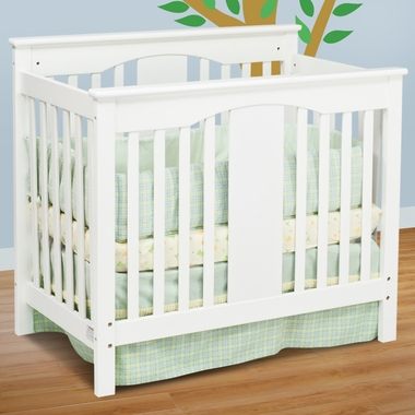 Antique White Annabelle Mini 2 in 1 Convertible Crib by DaVinci - Click to enlarge