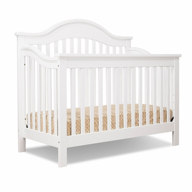 White Jayden 4 in 1 Convertible Crib by DaVinci - Click to enlarge