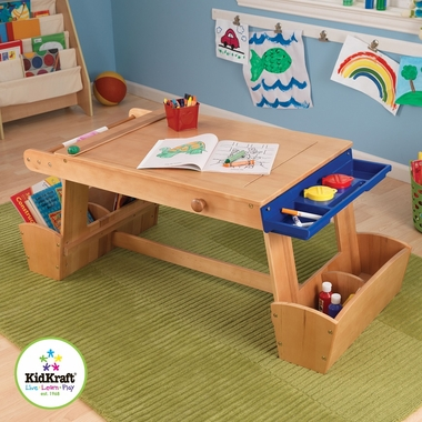 Art Table with Drying Rack and Storage by KidKraft