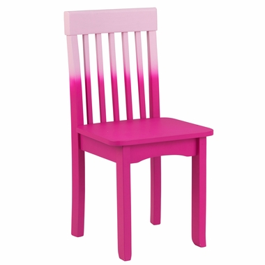 Kidkraft Avalon Chair in Hot Pink Ombre - Click to enlarge