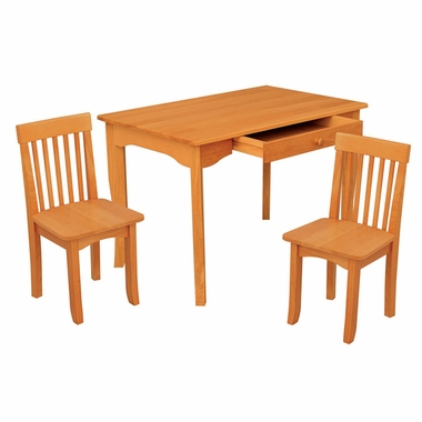 Kidkraft Avalon Table II and Chairs Set in Honey - Click to enlarge