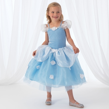 Kidkraft Blue Rose Princess Costume in Medium - Click to enlarge